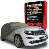 Small Autotecnica Waterproof Car Cover - Suit 4WD Up To 410cm (1-170)