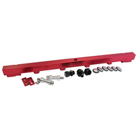 Aeroflow Fuel Rail Kit RB25 Red