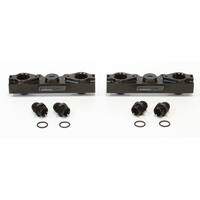 Aeroflow SUBARU EJ25 BLACK Fuel Rail KIT STI SIDE FEED