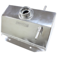 Aeroflow Performance Fabricated Radiator Overflow Tank - Polished