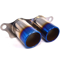Agency Power Titanium Exhaust Burnt Tips 07-11 Porsche 997 GT3 GT3RS Agency Power