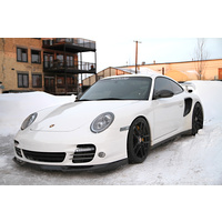 Agency Power Carbon Fiber TechArt Style Front Lip Spoiler Porsche 997 Turbo 07-13 Agency Power