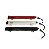 Agency Power High Flow Fuel Rail Red For 08-15 Mitsubishi EVO X