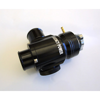 Agency Power Adjustable Blow Off Valve Black 08-15 Mitsubishi EVO X Agency Power