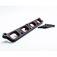 Agency Power Black Intake Manifold Spacer For Ford Focus RS 15-17