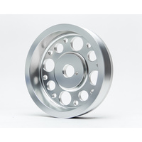 Agency Power Lightweight Crank Pulley Silver Scion FRS | Subaru BRZ | Toyota GT-86 Agency Power