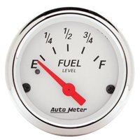 Arctic White Series Fuel Level Gauge - Empty/33 ohms (AU1317)