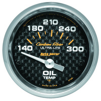 Carbon Fiber Series Oil Temperature Gauge (AU4748)