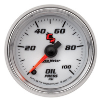 C2 Series Oil Pressure Gauge (AU7153)