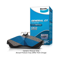 Bendix Front Brake Pads - 13 & 14 inch Wheels - Refer Image (DB1363GCT)