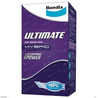 Bendix Ultimate Front Brake Pads - 13 & 14 inch Wheels - Refer Image (DB1363ULT)