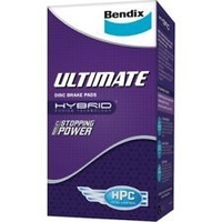 Bendix Ultimate Front Brake Pads (DB416ULT)