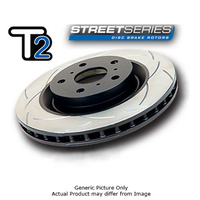 Front Slotted Rotor - 278mm Rotor (DBA2118S)