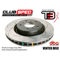 4000 Series T3 Front Slotted Rotor - 276mm Rotor (DBA4402S)
