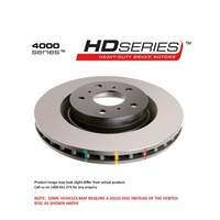 4000 Series T3 Front Standard Rotor (RS Model) - 284mm Rotor (DBA4429)