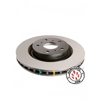4000 Series T3 Rear Standard Rotors (08/1993-On) - 300mm Rotor (DBA4929)