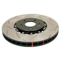 5000 Series 2 Piece Front Slotted Rotor - 320mm Rotor (DBA52218BLKS)