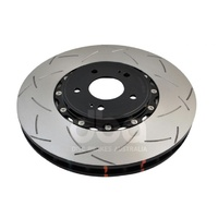 5000 Series 2 Piece Front Slotted Rotor - 350mm Rotor (DBA52224BLKS)