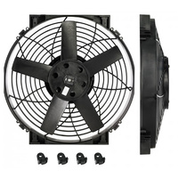 "14"" Electric Fan Only - Includes Fan Assembly & Mounting Feet, Requires Wiring Loom, Relay, Mounting Hardware and Instructions"