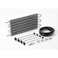"Ultra-Cool Transmission Cooler with 3/8"" Push-on Fittings - 190mm (H) x 394mm (L) x 19mm (Thick)"