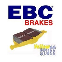 Front Brake Pads EBC Yellow Stuff BREMBO CALIPER (DP41823)