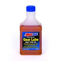 AMSOIL 75W-90 Long Life Synthetic Gear Lube 1x QUART (946ml)