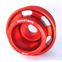 Underdrive Crankshaft Pulley - Red