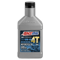 AMSOIL 4T MC4 10W-40 100% Synthetic Performance Motorcycle Oil
