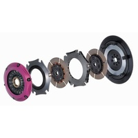 Exedy Hyper Twin Plate MULTI (Ceramic Friction Material/ Sprung Clutch Disc) (MM062SD) MASSIVE SALE