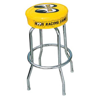 Bar Stool - Yellow With Moon Logo
