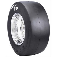 ET Drag Slick Tyre - 34.0 x 13.5-16W, X5 Compound - Stiff Sidewall