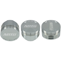 "Nitto Pistons RB26 - 86.5MM (+.020"") +18cc DOME (NIT-JE-RB2620"