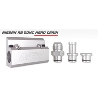 Nitto RB DOHC CYLINDER HEAD OIL DRAIN WITH -10AN FITTING (NIT-OIL-RBD10)