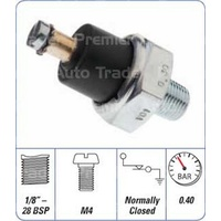 Engine Oil Pressure Switch - Screw on Terminal (OPS-040)