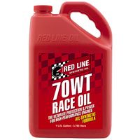 70WT Nitro Drag Race Engine Oil - 1 Gallon Bottle (3.785 Litres) (RED10705)