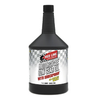 80W Motorcycle Gear Oil With ShockProof - 1 Quart Bottle (946ml) (RED42704)