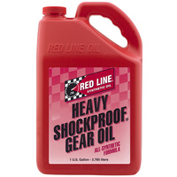 Heavy ShockProof Gear Oil - 1 Gallon Bottle (3.785 Litres) (RED58205)