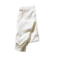 Nomex Waffle Knit Underwear - Medium, White Pants, SFI Approved