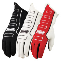 Competitor Glove - X-Large, White, SFI & FIA Approved