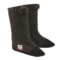 "Drag Boot ""Holeshot"" - Black SFI-20, X-Large Suit TF/FC Shoe size 11-1/2 To 13"