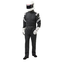 Legend II Suit - X-Large, Black 1-Piece, SFI.1