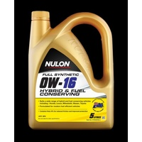 Full Synthetic 0W-16 Hybrid and Fuel Conserving Engine Oil - 5L
