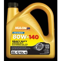 Full Synthetic 80W-140 Heavy Duty Limited Slip Differential Oil - 4L