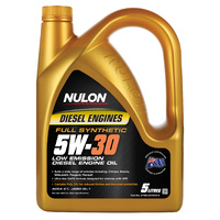 Full Synthetic 5W-30 Low Emission Diesel Engine Oil - 5L