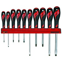 10 Mega Drive Screwdrivers on Wall Rack (WRMD10N)