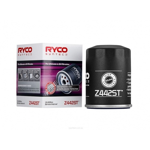 Ryco Syntec Oil Filter (Z442ST)